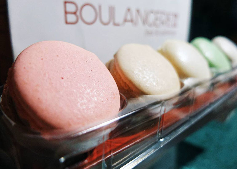 Macarons from Boulangerie22
