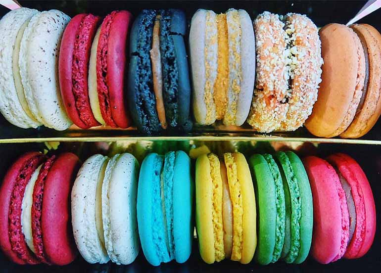 Macarons from TWG