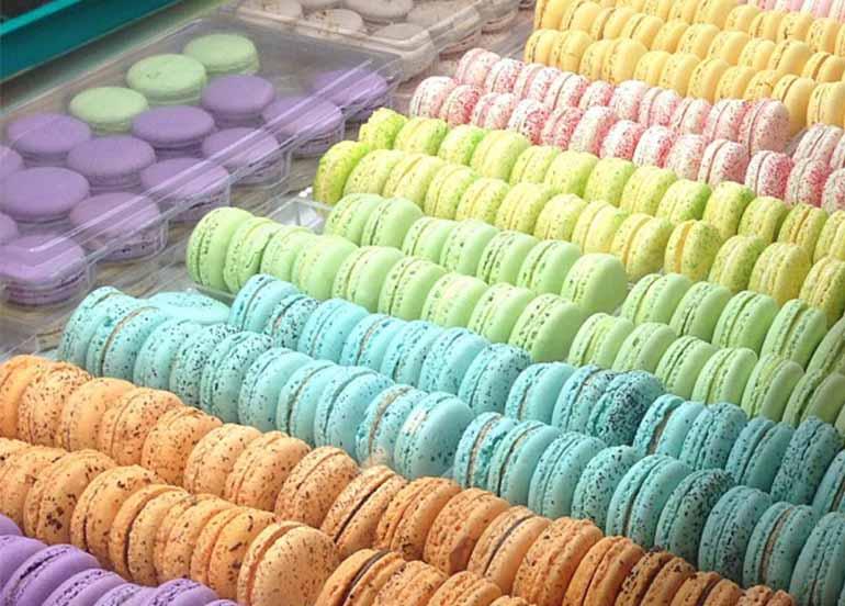 Macarons from Bizu