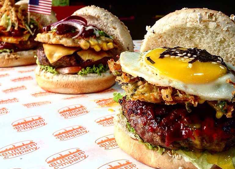 Burgers from Burger Company