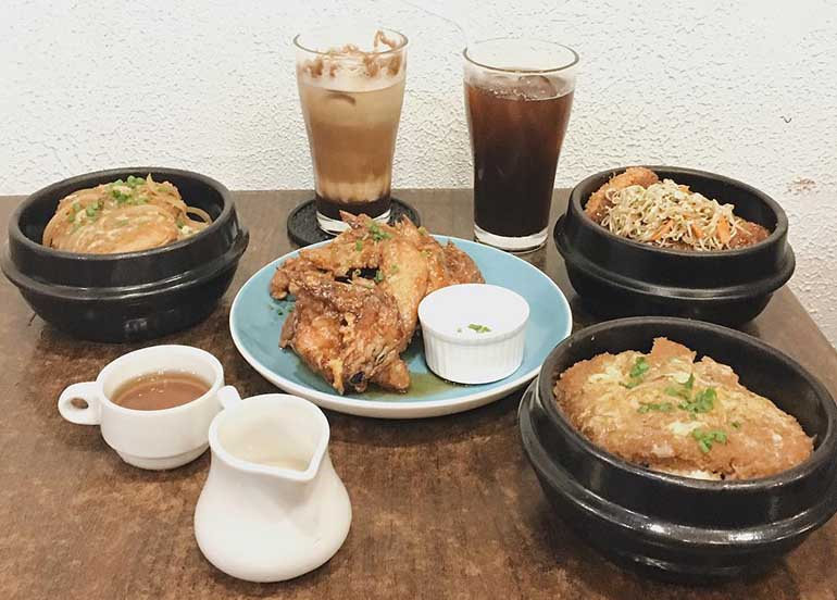 Savory Food from Ludo: Boardgame Bar & Cafe