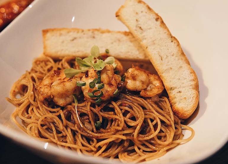 Seafood Pasta from Game Over PH