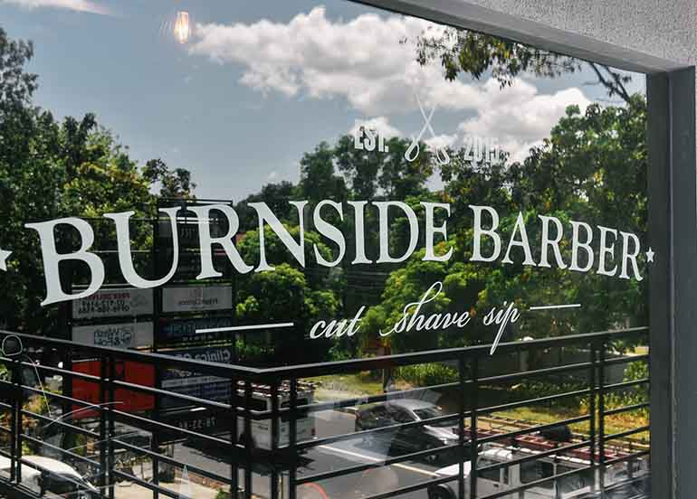 Burnside Barber in Quezon City gives men the personal grooming they deserve