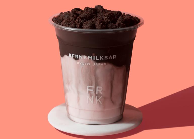 kokoa magma, frnk milk bar, milk tea