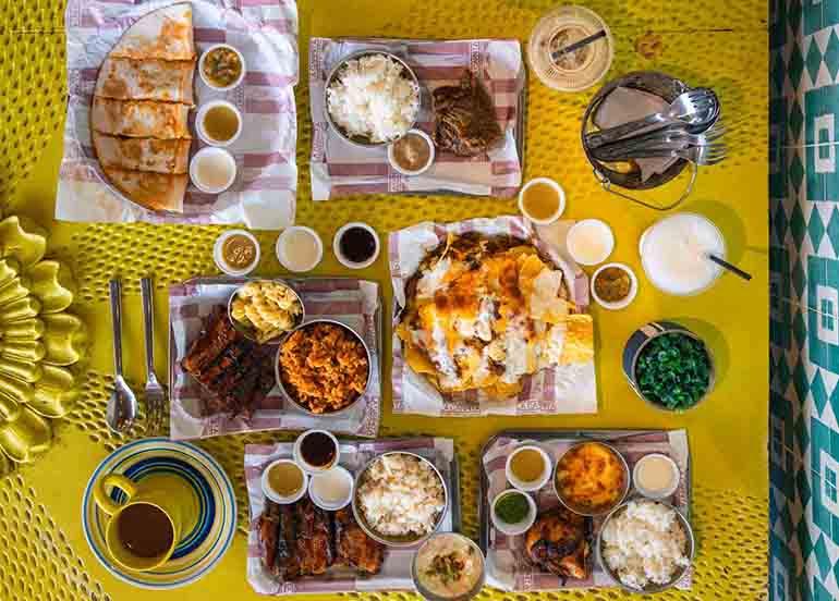 La Carnita Dishes
