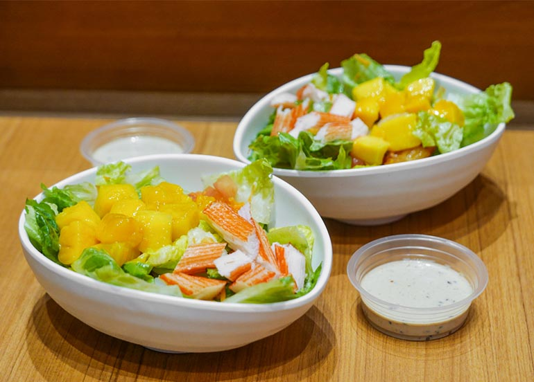 Kani and Mango Salad from Kenny Rogers Roasters
