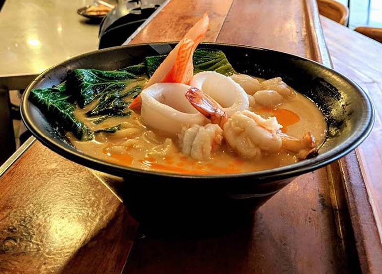 Seafood Hiyashi Tantanment from Mendokoro Ramenba