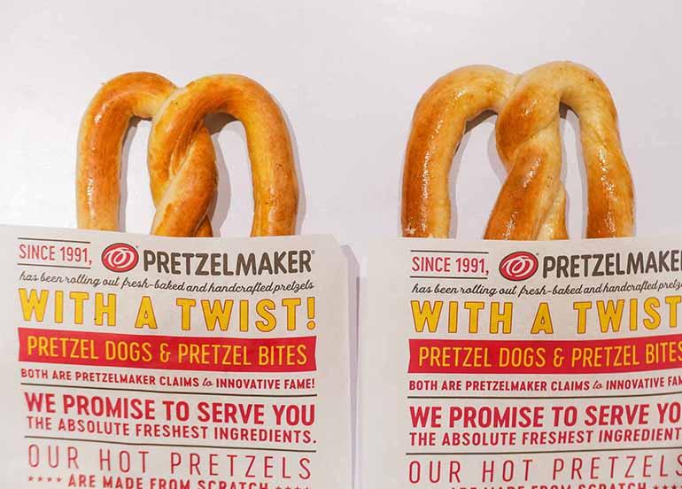 Pretzel from PretzelMaker