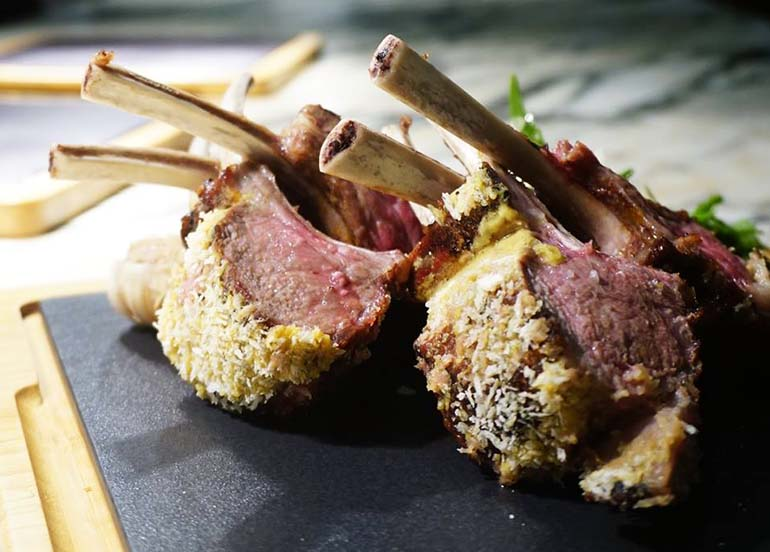Rack of Lamb from Finestra at Solaire