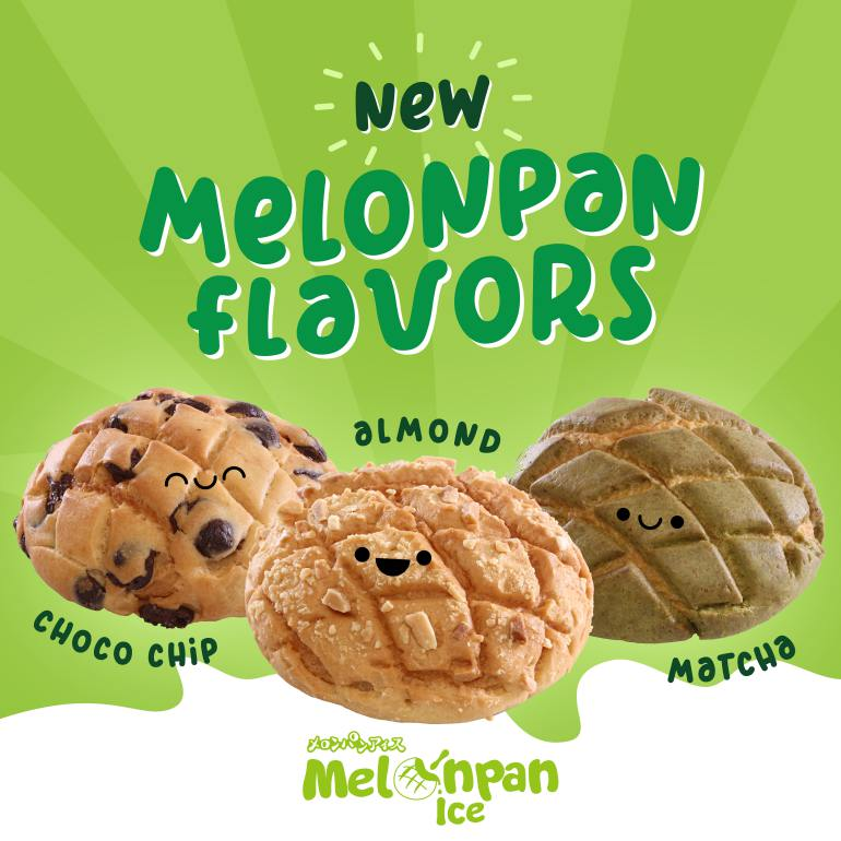 melonpan ice new flavors
