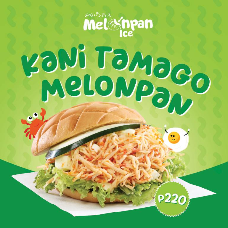 melonpan ice kani flavor