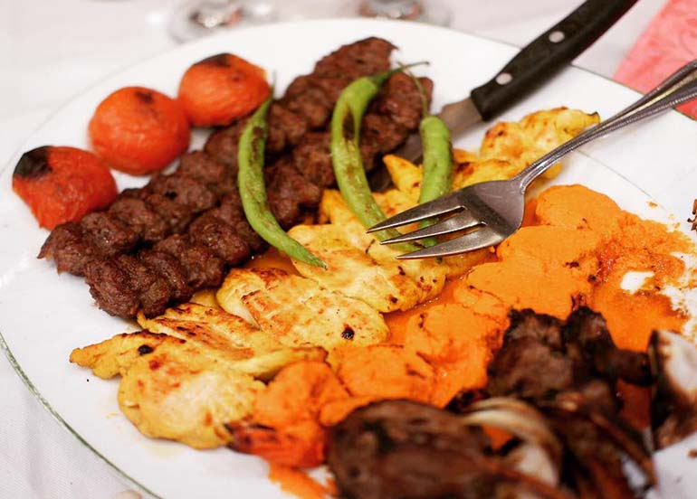 Barbequed Kebabs from Gilak by Hossein