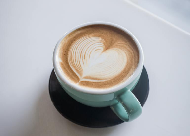 manna & golde cafe latte