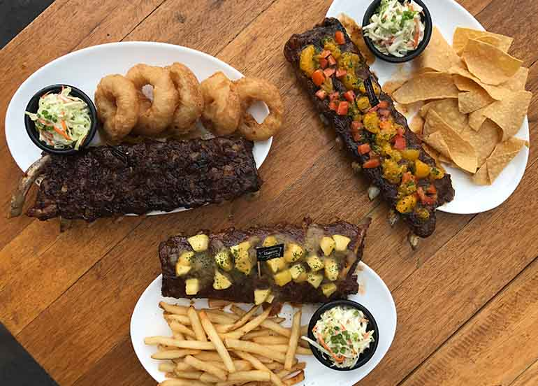 Ribs from Morganfield's