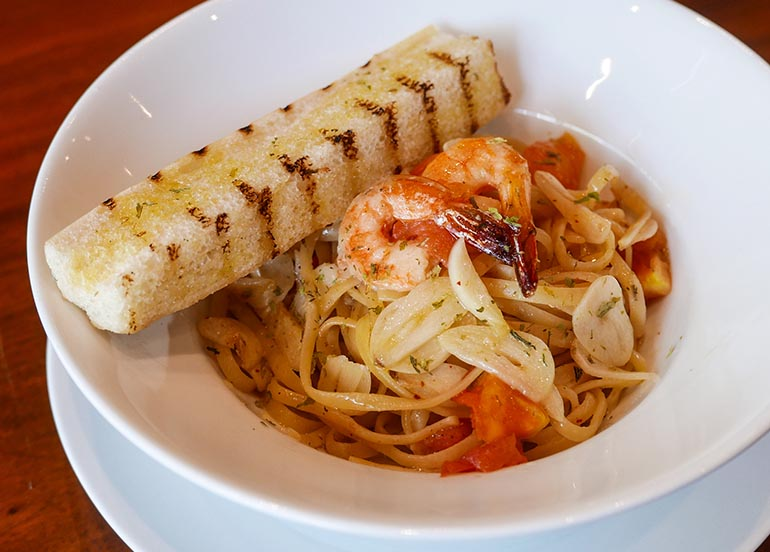 Seafood Pasta from Illy Caffe