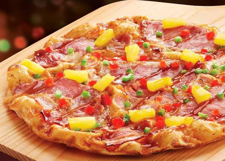 Christmas Ham Pizza from Shakey's Philippines