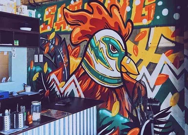 Sabong Fried Chicken Interiors