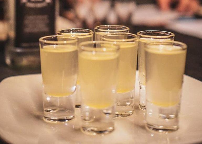 Alcoholic Shots from Barrel Sports Bar
