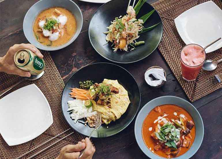 Western Dishes from Buddha's Surf Resort