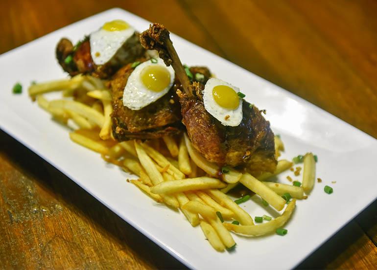Fried Chicken Adobo from Komunidad