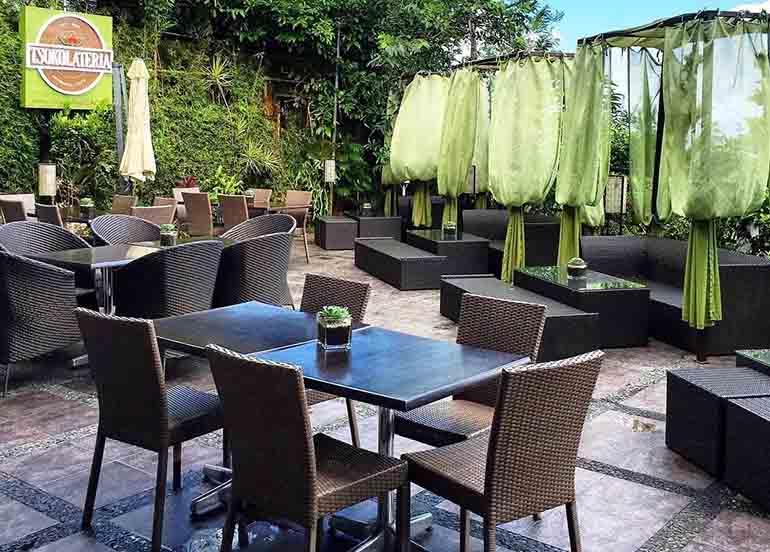 Tsokolateria, a Tagaytay Cafe, Interiors