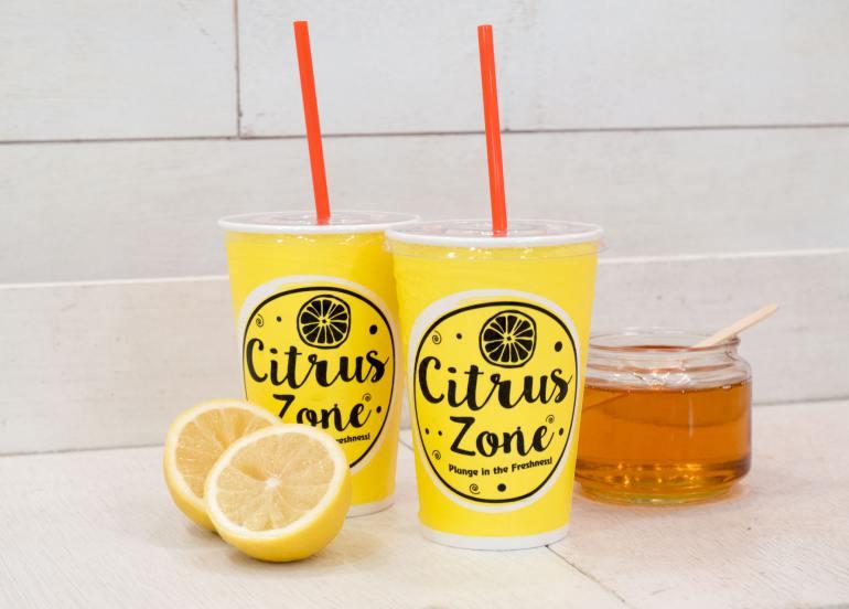 citrus zone honey lemon drink