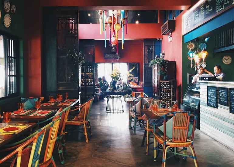 Cafe Voi La in Tagaytay (Interiors)