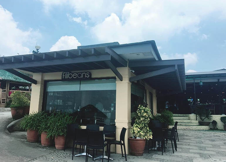 Filibeans Coffee Tagaytay Facade