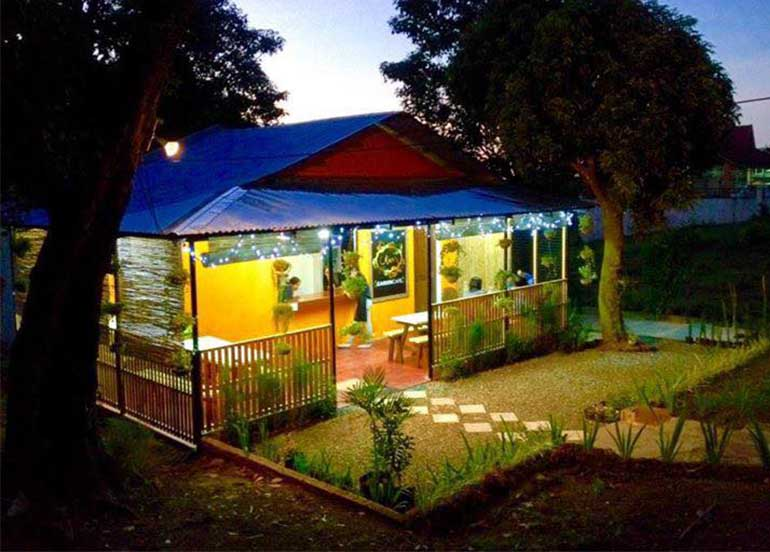 Char's Garden Cafe Tagaytay Facade and Garden