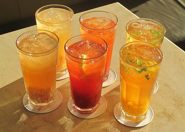 Iced Teas from Chelsea Kitchen at Megamall