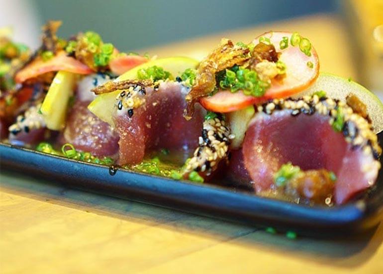 Tuna Sashimi Platter from Ooma