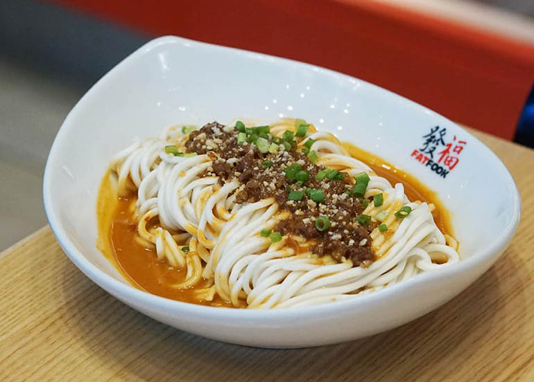 Noodles from Fat Fook Taiwanese Kitchen