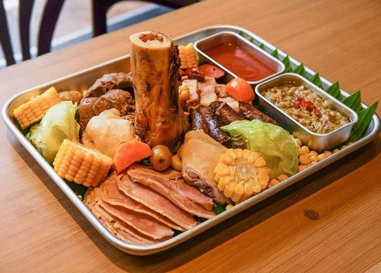 LUMU Cocido with slow cooked meats and vegetables from Lumu Beer House