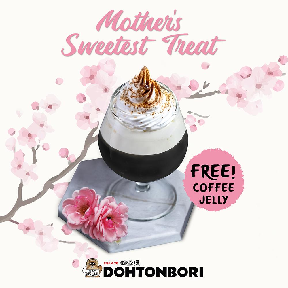 dohtonbori mother's day promo