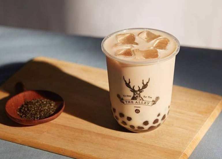 milk tea, taiwan, mall of asia, the alley