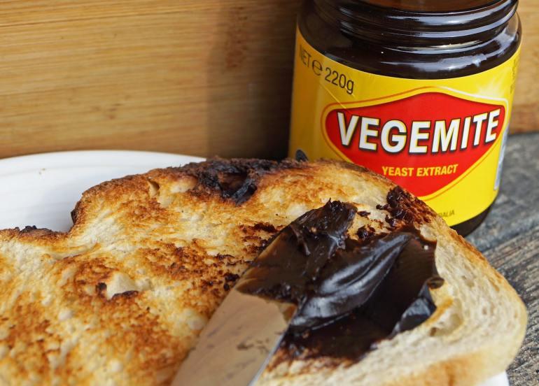 vegemite sandwich australian