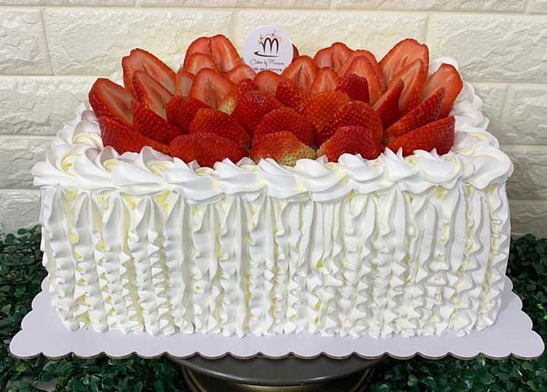 Strawberry Shortcake from Cakes by Miriam