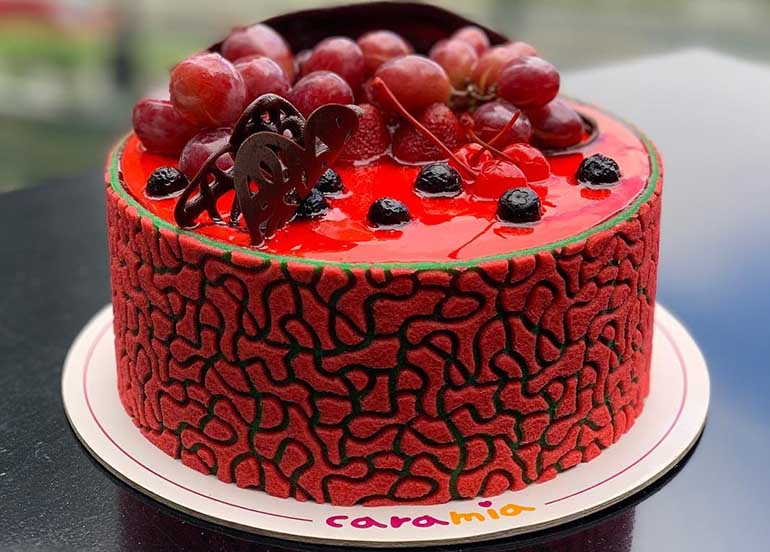 Rouge Cake from Cara Mia Cakes and Gelato
