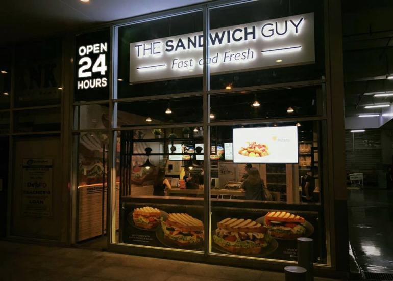 the sandwich guy metro manila