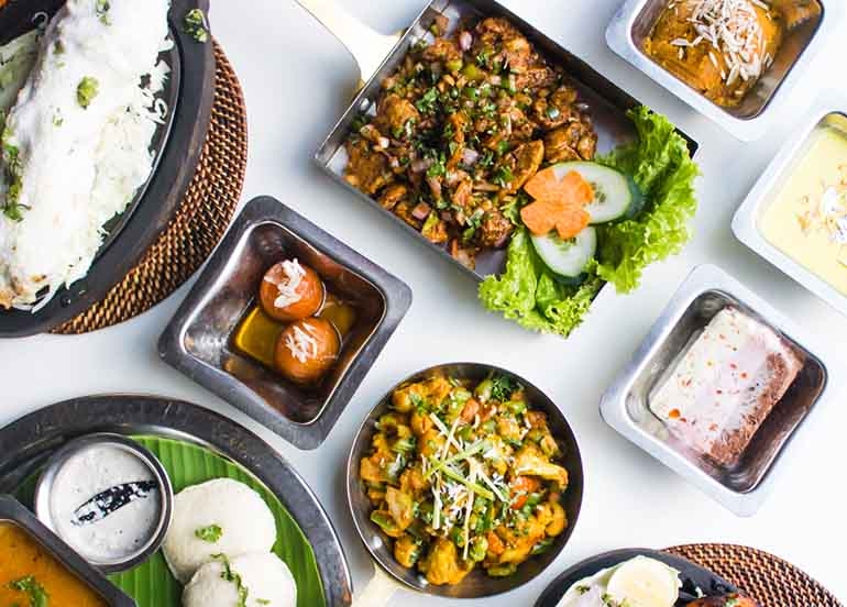 Indian Dishes from Royal Indian Curry House