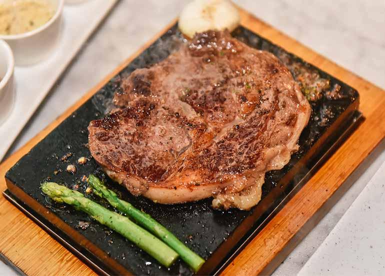 Ribeye Steak from Stoned Steaks