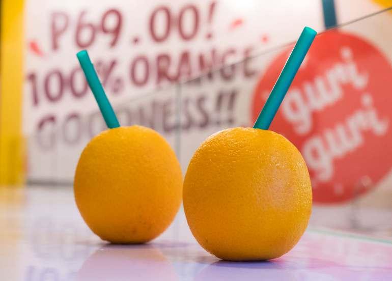 guri guri, orange juice, fruit juices, healthy juices, juice recipes