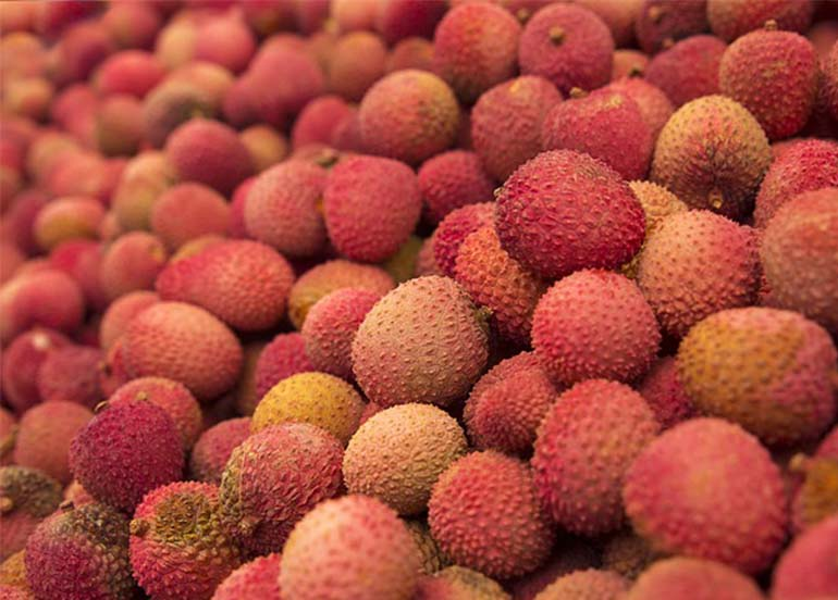 Lychee Fruits Rich in Vitamin C