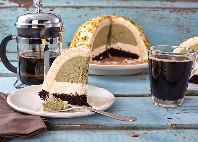 Pistachio Dome Cake from Starbucks Philippines
