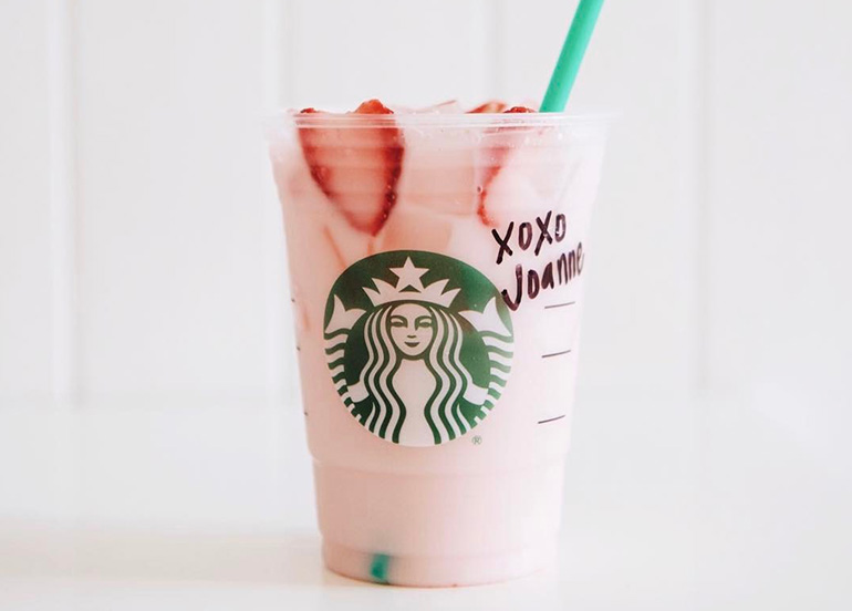 Pink Drink from Starbucks