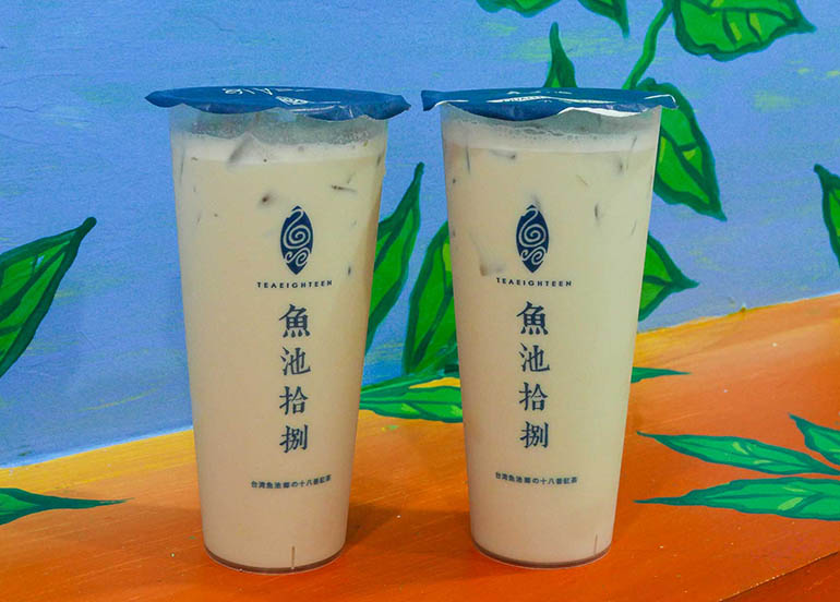 Taiwan Classic Bubble Tea from Tea 18