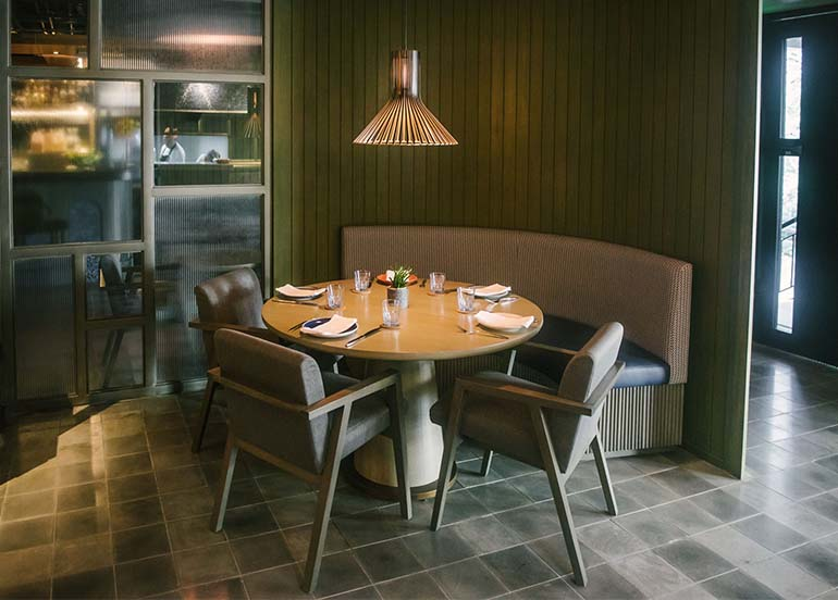 Q & A Kitchen + Bar Interiors