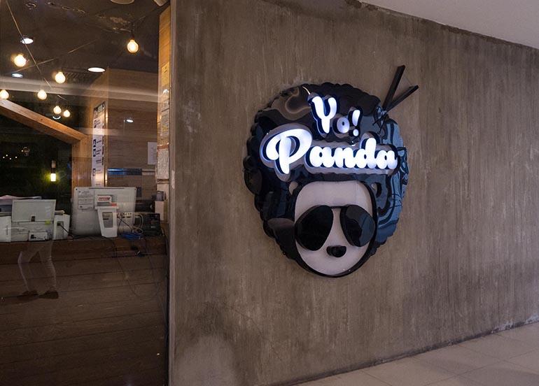Yo! Panda Logo