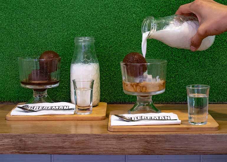 Espresso Ball, Milk from Crepeman