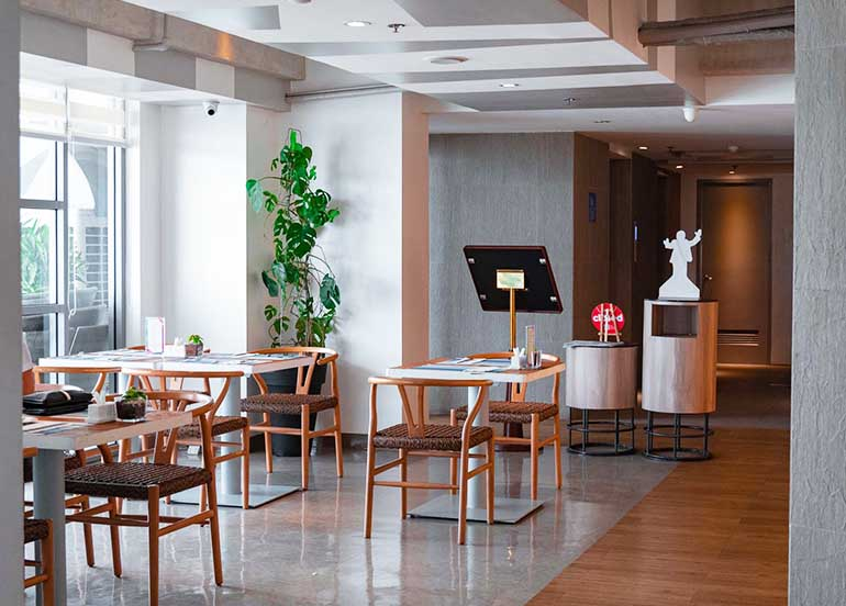Milagritos in TRYP Hotel Interiors
